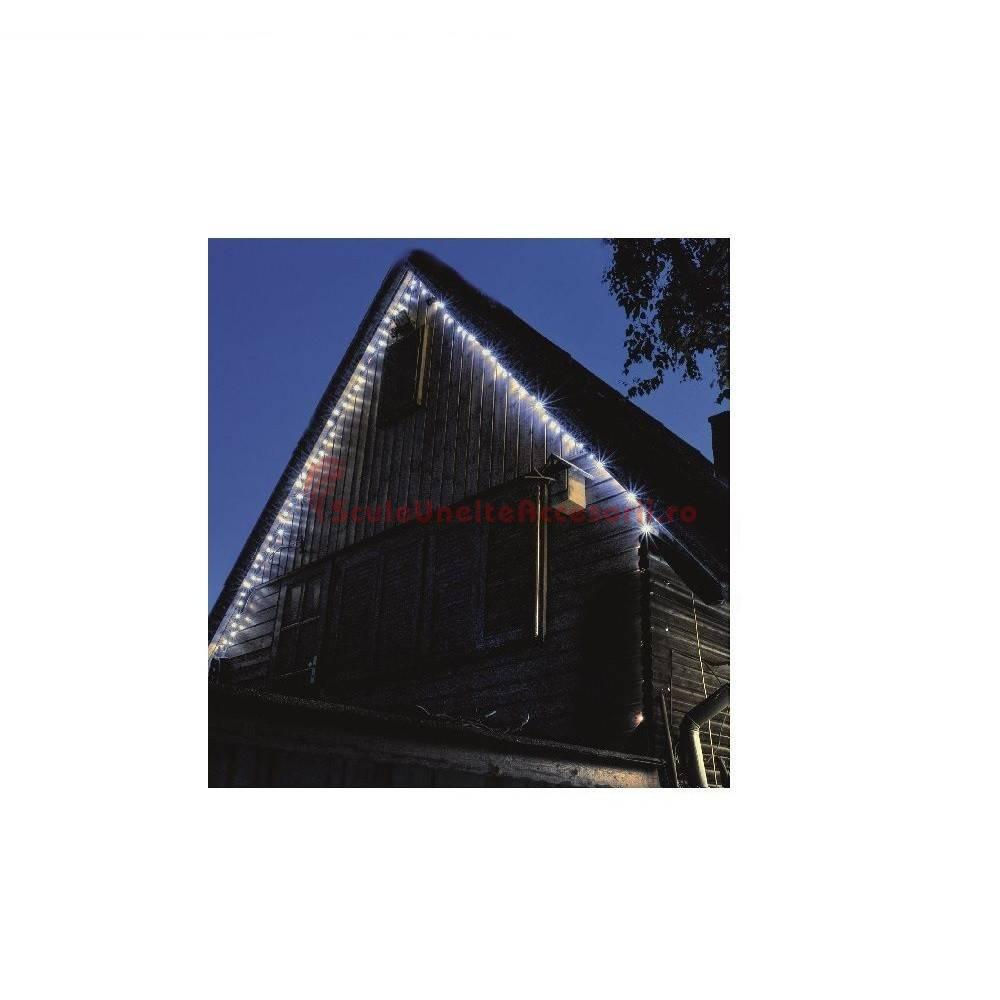 instalatie lumini exterior 100 led uri home ktl 108 wh 7 m ip44