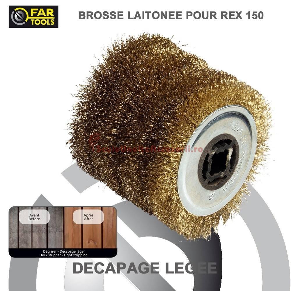 perie de sarma din alama pentru masina de slefuit fartools rex 120. Black Bedroom Furniture Sets. Home Design Ideas