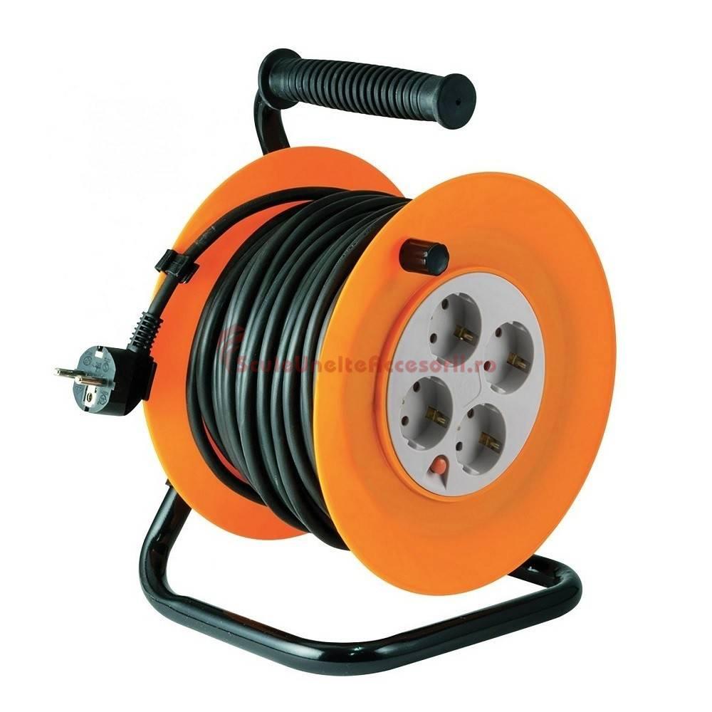 Tambur cablu talpa metalica home hjr 4 50 4 prize cu Liner 4 50 x 1 20