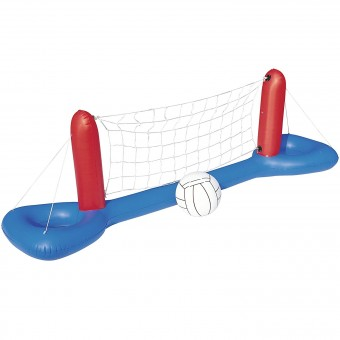 Set fileu si minge gonflabila BestWay Volleyball Set, 2.44x64 cm