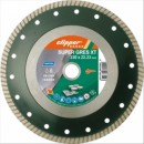 Disc diamantat profesional materiale dure 230x25.4mm, Norton SuperGres XT