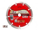 Disc diamantat segmentat uscat 230mm, Raider 162110