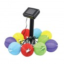 Set 10 lampi solare Strend Pro Lampion, Led, 0.1 x 10 W, multicolor