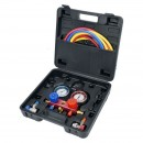 Set tester pentru aer conditionat Yato YT-72990, R-134a, 6 Piese