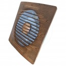 Ventilator axial de perete, Helix 100-Walnut, debit 100 m3/h, diametru 100 mm, 12W
